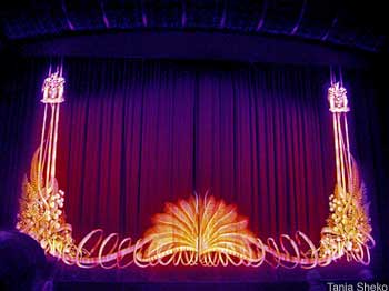 Waiting for the curtain to go up with discount concert tickets to an Australian Ballet performance