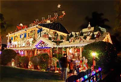 Christmas street decorations for Australian christmas decoration ideas