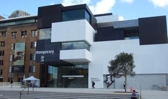 The Museum of Contemporary Art, one of the Sydney Biennale venues