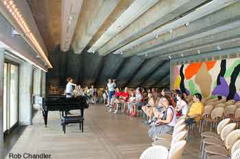 Utzon room Sydney Opera House tickets are ideal for solo or chamber orchestra music