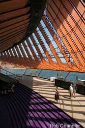 The northern foyer, Sydney Opera House