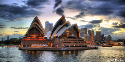 New Years Eve Sydney cruises: the Opera House