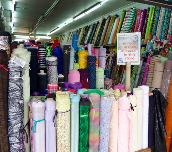 Vietnamese restaurants in Sydney: Cabramatta's fabric shops