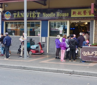 Queues can be the key to finding the best Vietnamese restaurants in Sydney
