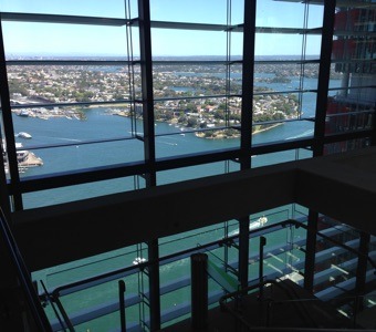 Sydney Open: view from Barangaroo tower