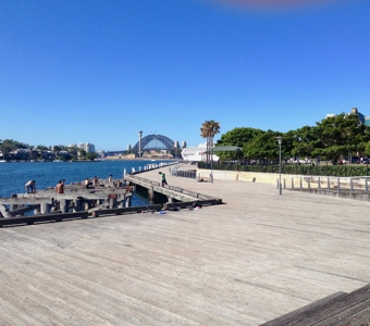 Pirrama Park wharf is a great spot for Sydney New Years Eve outdoors