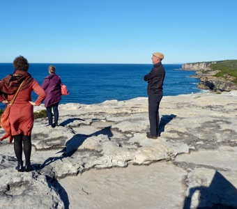Sight seeing from Sydney: Whale watching from the Balconies, Royal National Park
