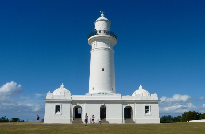 Macquarie LIghthouse, from the top of which you'll get a stunning Sydney view