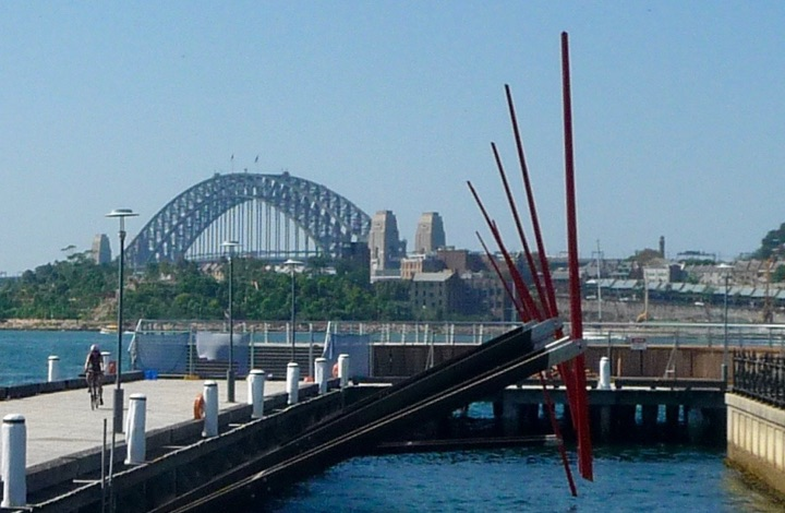 Things to see in Sydney: kinetic sculpture in Pyrmont
