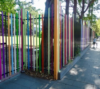Things to see in Sydney: Glebe Public School fence